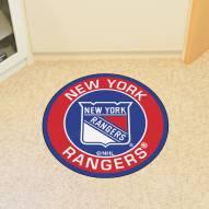 New York Rangers Rounded Mat