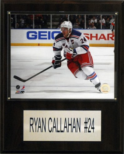 "New York Rangers Ryan Callahan 12"" x 15"" Player Plaque"