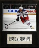 "New York Rangers Ryan Callahan 12"" x 15"" Player Plaque"