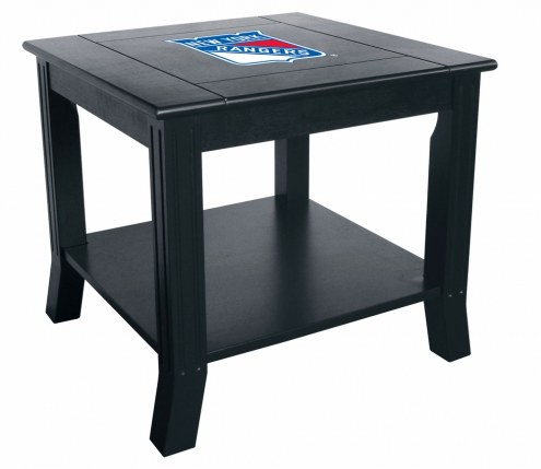 New York Rangers Side Table