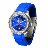 New York Rangers Sparkle Women's Watch