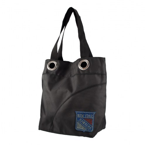 New York Rangers Sport Noir Sheen Tote