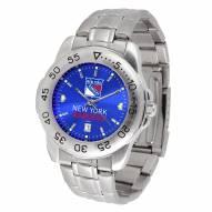 New York Rangers Sport Steel AnoChrome Men's Watch