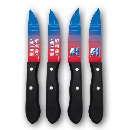 New York Rangers Steak Knives