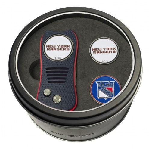 New York Rangers Switchfix Golf Divot Tool & Ball Markers