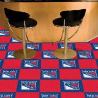 New York Rangers Team Carpet Tiles