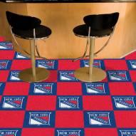 New York Rangers Team Carpet Tiles