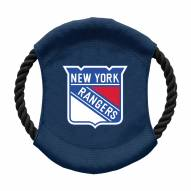 New York Rangers Team Frisbee Dog Toy
