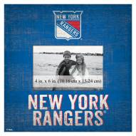 """New York Rangers Team Name 10"""" x 10"""" Picture Frame"""