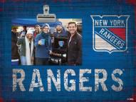 New York Rangers Team Name Clip Frame