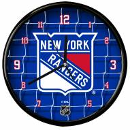 New York Rangers Team Net Clock