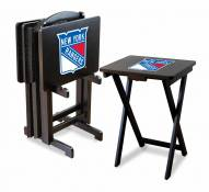 New York Rangers TV Trays - Set of 4