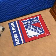 New York Rangers Uniform Inspired Starter Rug