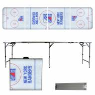 New York Rangers Victory Folding Tailgate Table