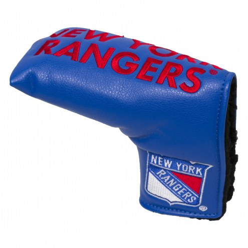 New York Rangers Vintage Golf Blade Putter Cover