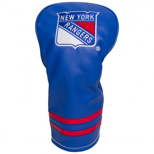 New York Rangers Vintage Golf Driver Headcover