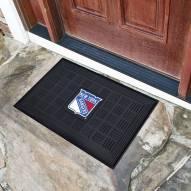 New York Rangers Vinyl Door Mat