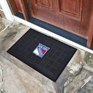 New York Rangers Vinyl Door Mat
