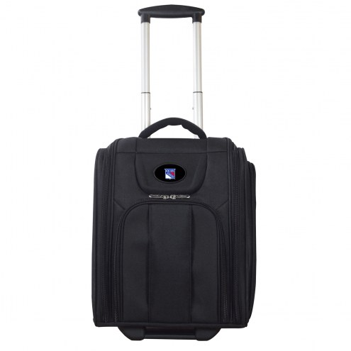 New York Rangers Wheeled Business Tote Laptop Bag