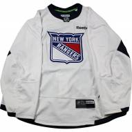 New York Rangers White Issued Shield Practice Jersey (Size 52)