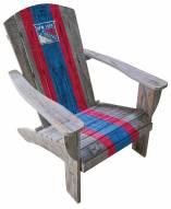 New York Rangers Wooden Adirondack Chair