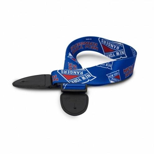 New York Rangers Woodrow Guitar Strap