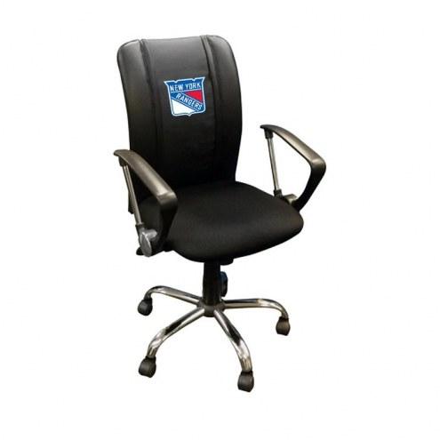New York Rangers XZipit Curve Desk Chair