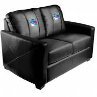 New York Rangers XZipit Silver Loveseat
