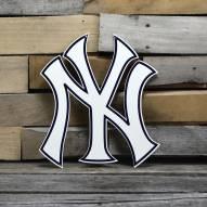"New York Yankees 12"" Steel Logo Sign"