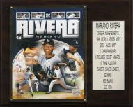 "New York Yankees 12"" x 15"" Mariano Rivera Career Stat Plaque"