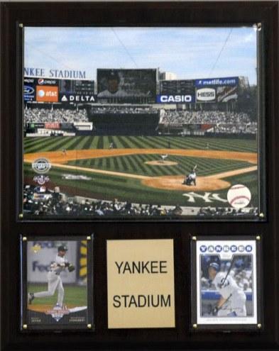 """New York Yankees 12"""" x 15"""" Yankee Stadium Plaque"""