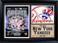 "New York Yankees 12"" x 18"" Greats Photo Stat Frame"