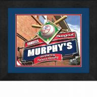 New York Yankees 13 x 16 Personalized Framed Sports Pub Print