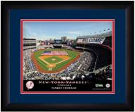 New York Yankees 13 x 16 Personalized Framed Stadium Print