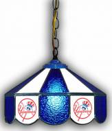 "New York Yankees 14"" Glass Pub Lamp"