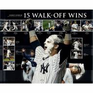 """New York Yankees 15 Walk-Off Wins Collage Signed 16"""" x 20"""" Photo"""