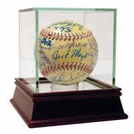 New York Yankees 1950s and 60s Multi Signed OAL Baseball 25 Signatures