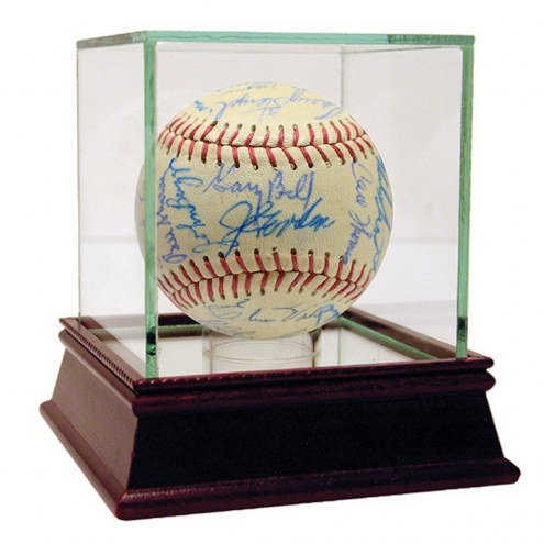 New York Yankees 1959 Yankees and Indians Multi Signed 41 Sig Baseball
