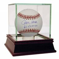 New York Yankees 1961 Infield and Manager Multi Signed Baseball w /61 Champs
