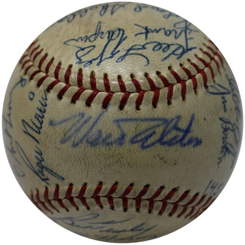 New York Yankees 1962 Multi Signed OAL Baseball 28 Signatures