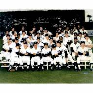 New York Yankees 1978 Multi Signed Color Middle Finger 16 x 20 Photo
