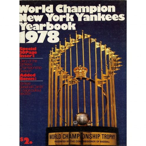 New York Yankees 1978 Yankees Team Signed Yearbook 43 Sigs
