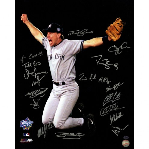 "New York Yankees 1998 Team (18 Signatures) Signed 16"" x 20"" Photo"