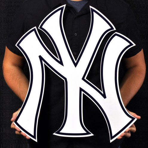"New York Yankees 24"" Steel Logo Sign"