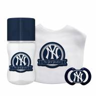New York Yankees 3-Piece Baby Gift Set