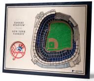 New York Yankees 5-Layer StadiumViews 3D Wall Art