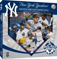 New York Yankees 500 Piece Home Plate Shaped Puzzle