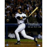 New York Yankees Aaron Boone Signed 2003 ALCS GW HR vs Red Sox 8 x 10 Vertical Photo