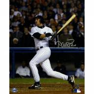 New York Yankees Aaron Boone Signed 2003 ALCS GW HR vs Red Sox Swing 8 x 10 Vertical Photo