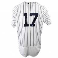 New York Yankees Aaron Boone Signed Authentic Pinstripe Jersey